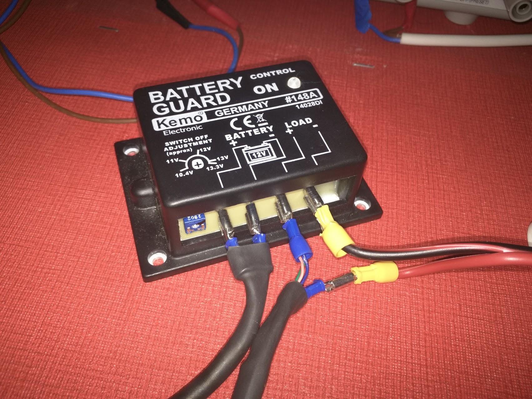 Car Battery Discharge Guard